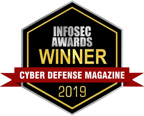 Cyber Defense Magazine 2019 INFOSEC award in Cyber Defense Training