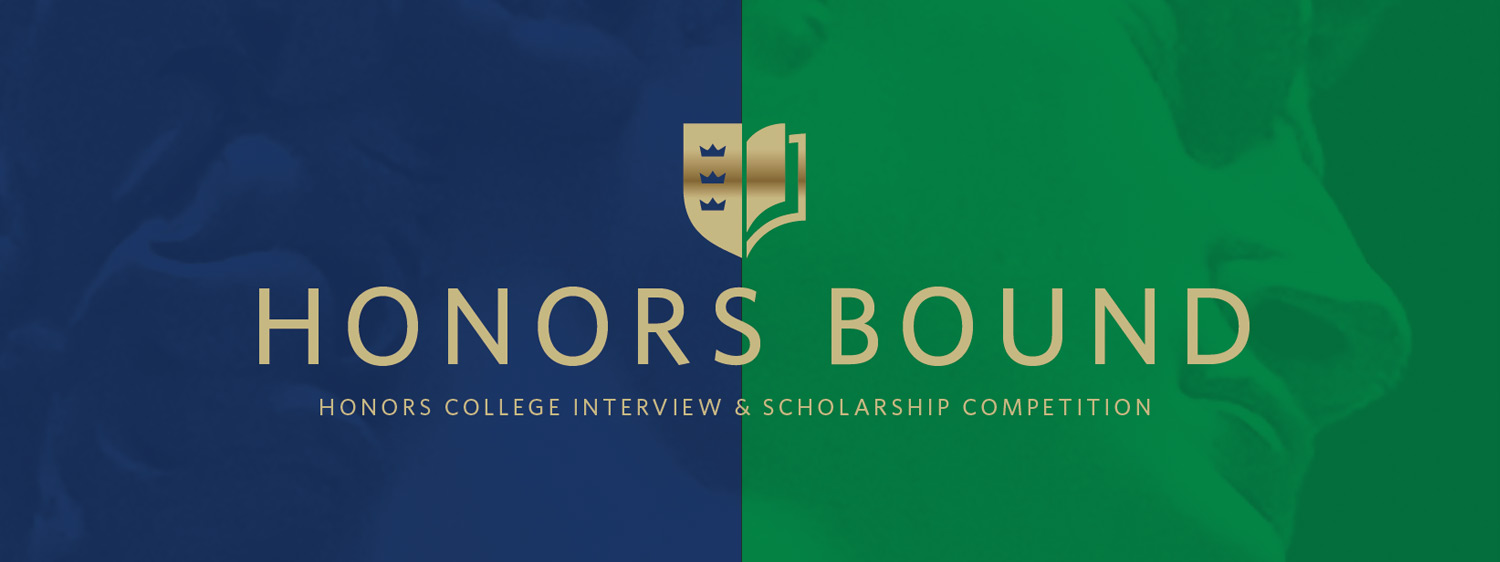 Compete for exclusive honors college scholarships through the Regent University Honors College interview and scholarship competition.