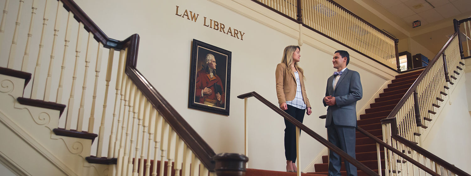 Regent Law Library offers a spectrum of academic resources to law school students.