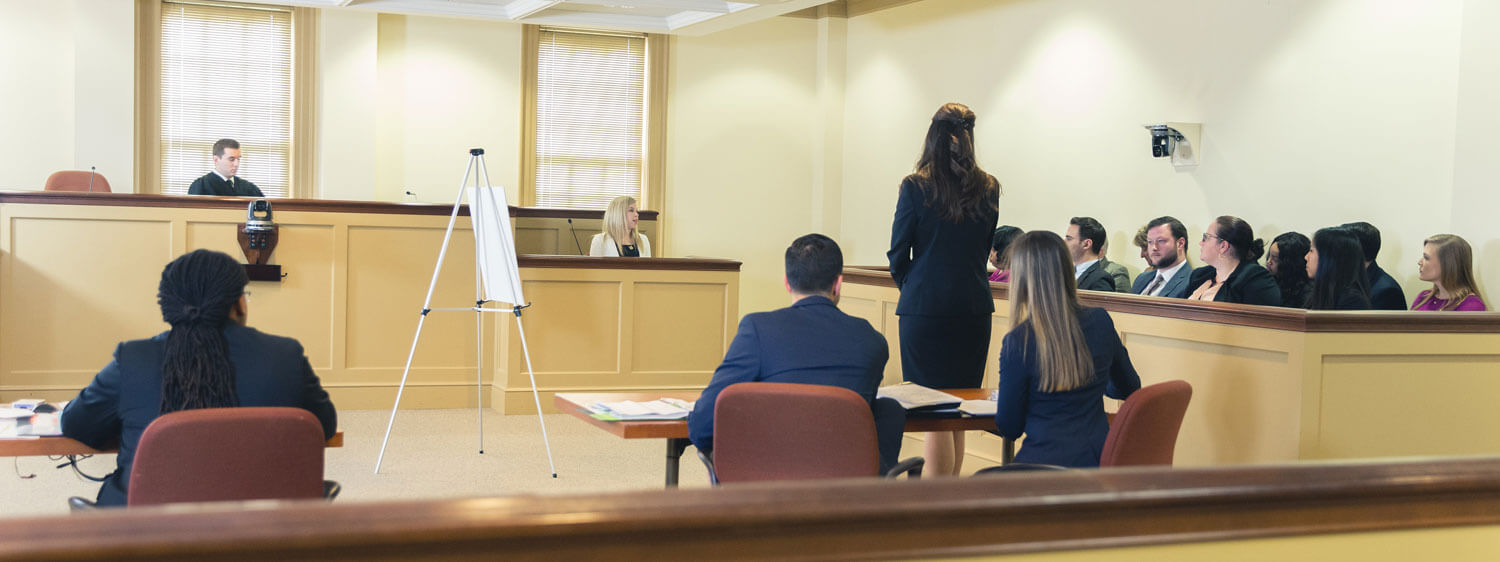 The Regent University School of Law's Integrated Lawyer Training (ILT) includes field placement and apprenticeship opportunities.