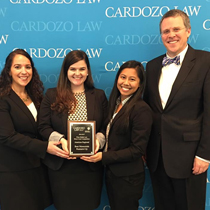 Three Regent University School of Law students made waves in the moot court competition arena.