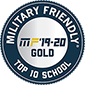 Regent University is a Top 10 Military Friendly School | Military Friendly® 2019-20 Gold.