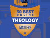 Regent University Ranked #17 on Top 30 Best Online Theology Masters Programs   OnlineCollegePlan.com, 2019.
