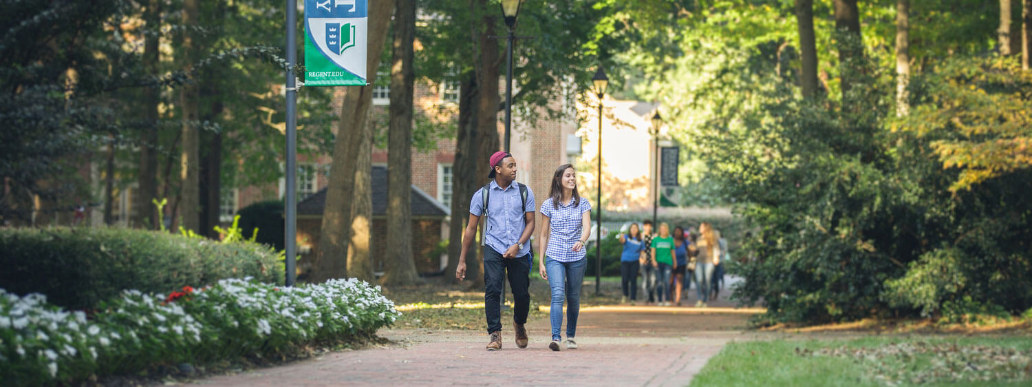 Regent University, Virginia Beach, helps students to explore scholarships and other options for college funding.