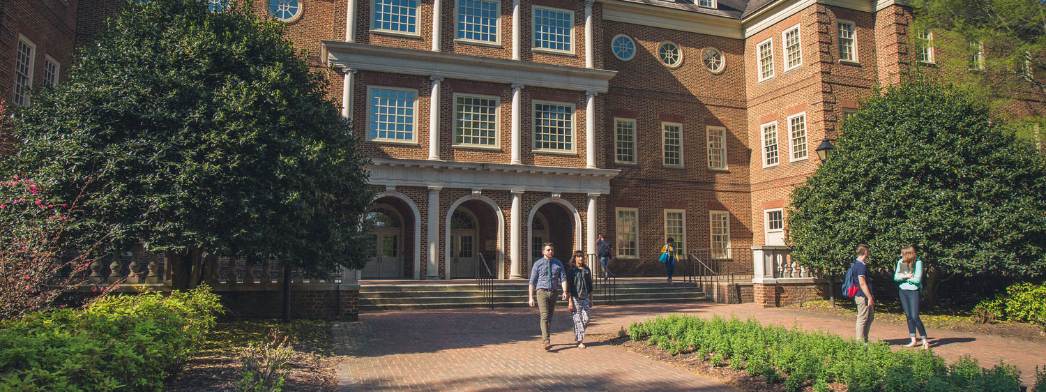Regent University's College of Arts & Sciences, Virginia Beach, instills a spirit of excellence in its students.