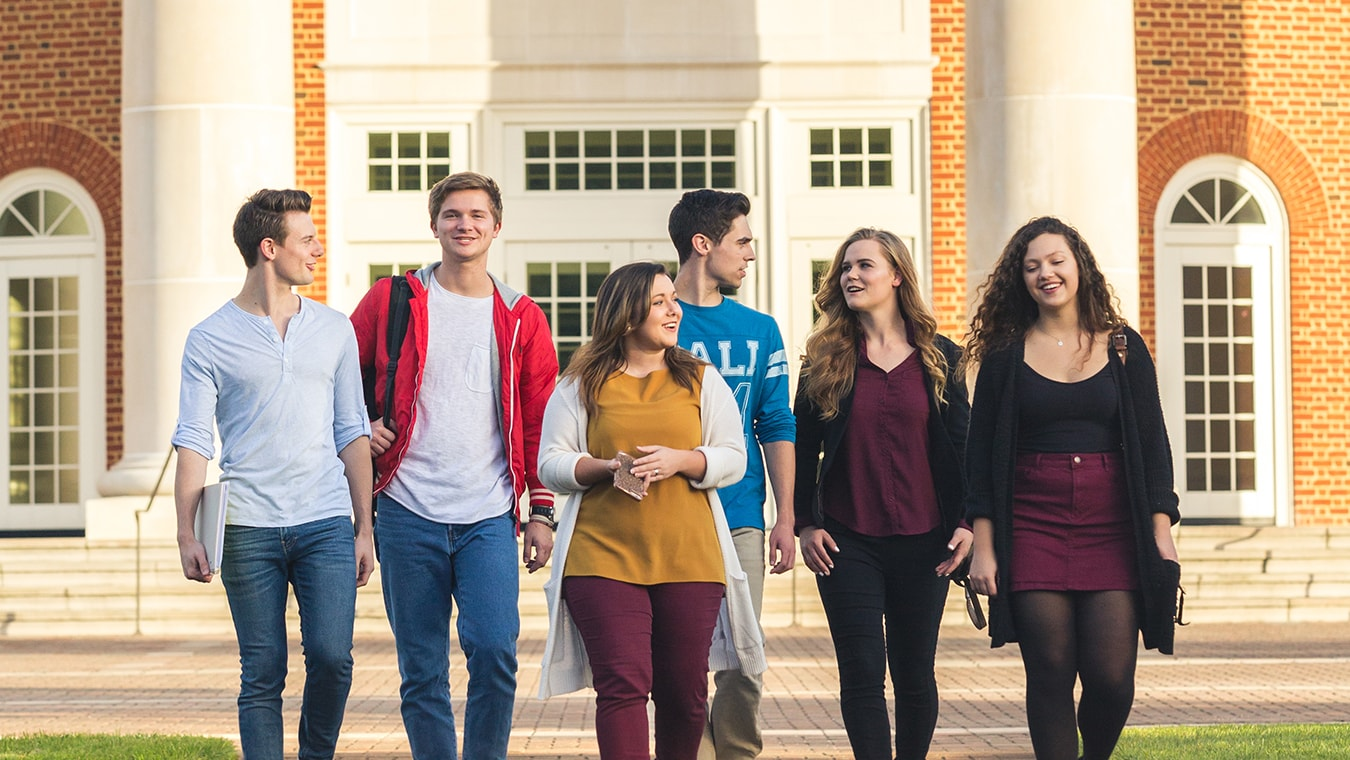 Regent University's undergraduate academic departments offer both, on-campus and online college degrees.