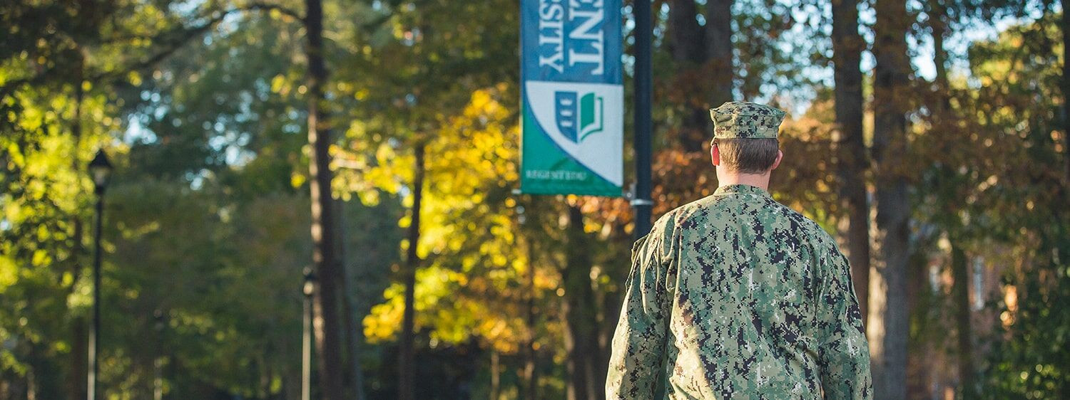 Going to college while in the military says that you're betting on yourself and your future.
