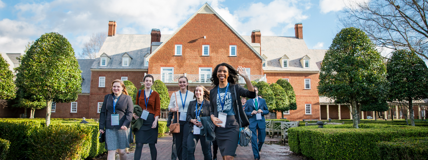 In February 2020, Regent welcomed 112 students, alongside 169 parents and guardians, for the university's 15th annual Scholars Weekend.