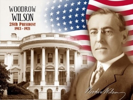 the life of woodrow wilson the president of the united states