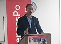 "Professor Eric Patterson spoke on ""Religion and Populism"""