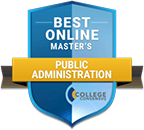 Regent University ranked #24 of Top 25 Best Online Master's in Public Administration Programs