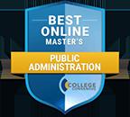 Regent University ranked #24 of Top 25 Best Online Master's in Public Administration Programs