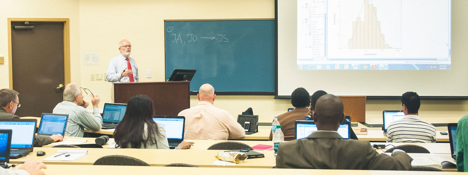 Regent University's School of Business & Leadership offers M.A., MBA, DSL and Ph.D. programs.