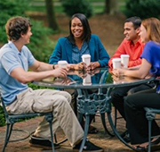 Regent University, Virginia Beach, VA 23464, offers classes online as well as on its beautiful 70-acre campus.
