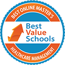Regent University Ranked #13 in the Top 25 Best Online Master's in Healthcare Management Programs | Best Value Schools, 2019.