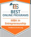 Regent University Ranked #15 in the Top 20 Best Online MBA in Entrepreneurship Programs | TheBestSchools.org, 2019.