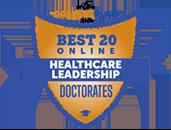Regent University Ranked #10 in Best 20 Online Doctorates in Healthcare Leadership Degrees | Online College Plan, 2019.