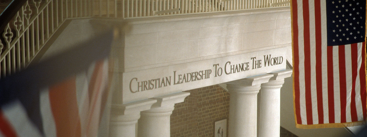 The mission of Regent University is to develop Christian leadership to change the world.