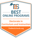 Top 10 Best Online Doctorates in Curriculum & Instruction | TheBestSchools.org, 2019.