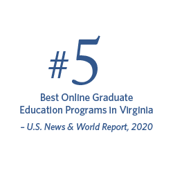 #4 Best Online Graduate Education Programs in Virginia | U.S. News & World Report, 2019