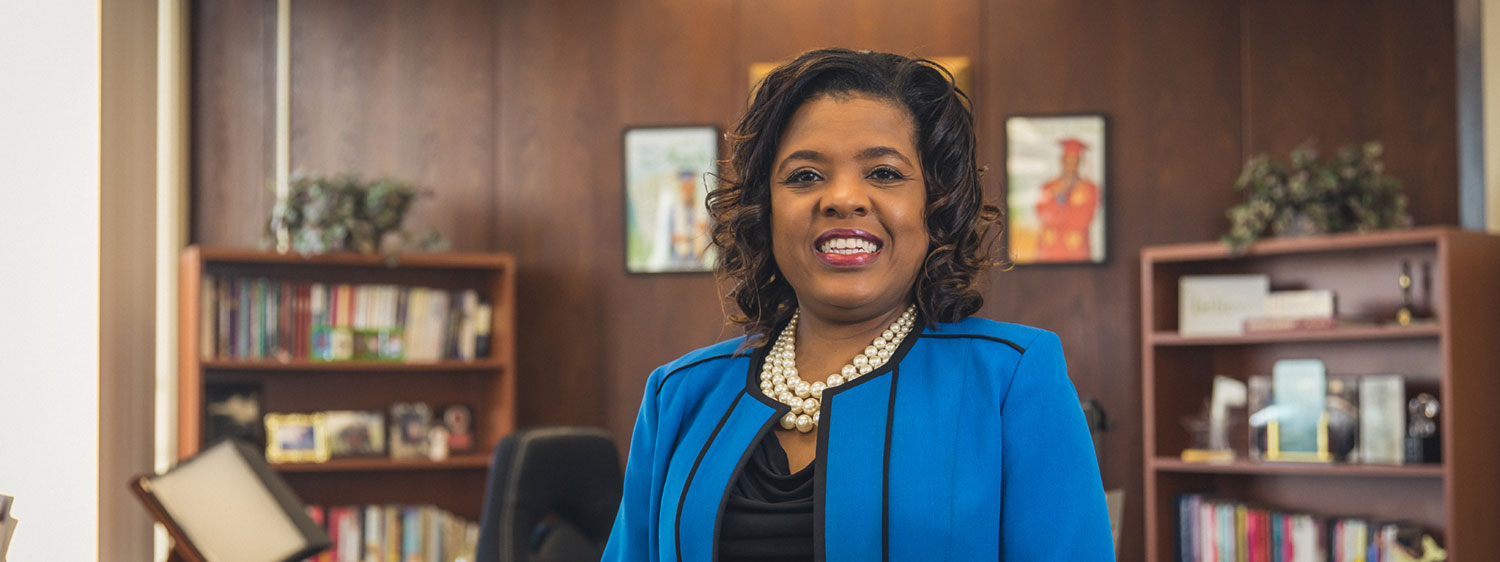 Sharon Byrdsong, acting superintendent of schools for Norfolk Public Schools.