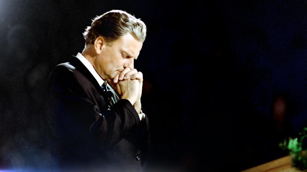 World-renowned Evangelical pastor, Rev. Billy Graham.