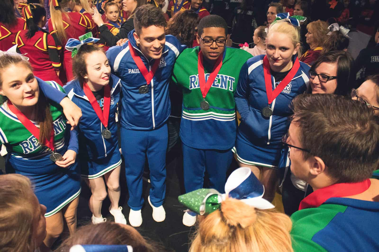 Regent Royals Cheerleaders won second place at the 2018 Christian Cheerleaders of America (CCA) National Competition.