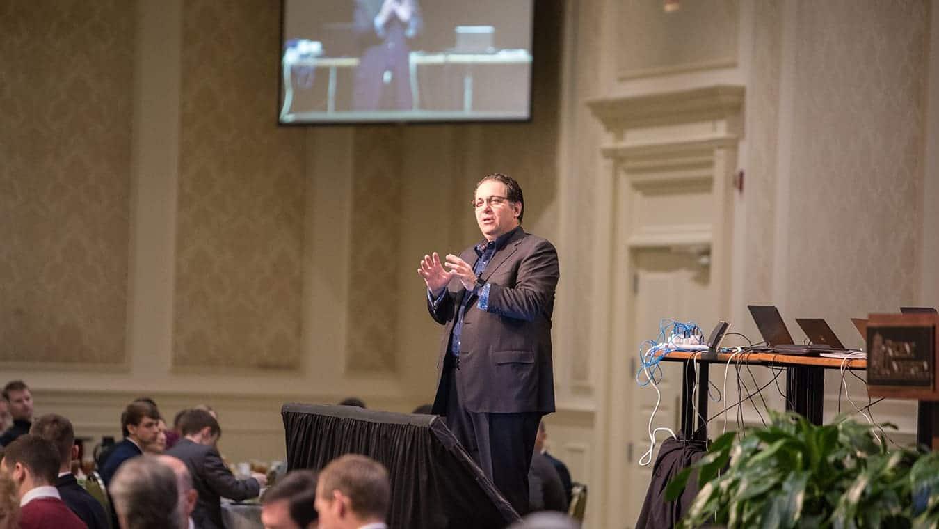 Kevin Mitnick at Regent University's Executive Leadership Series.