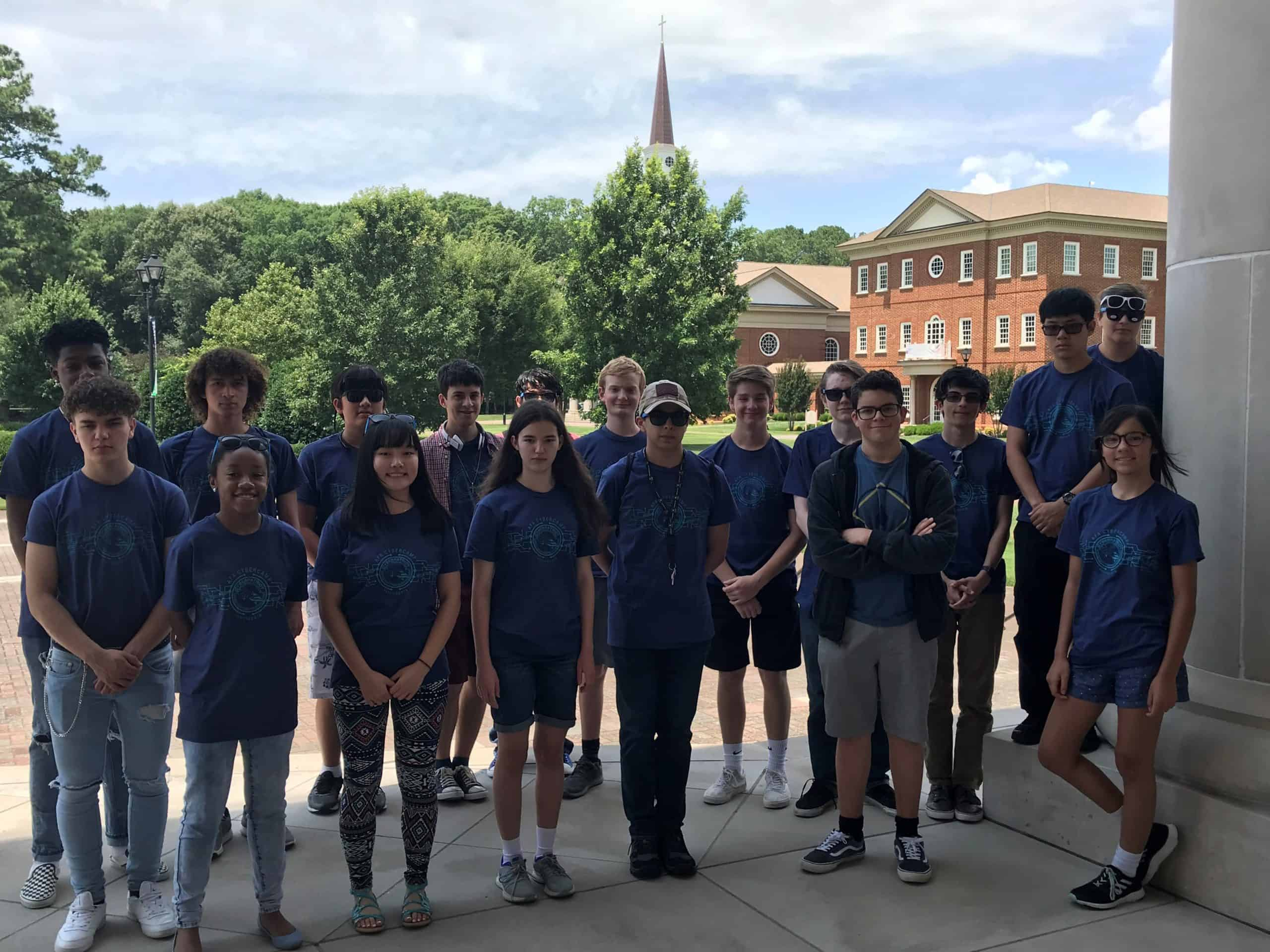 Regent University, Virginia Beach, hosted an Air Force Association (AFA) CyberCamp for high school students.