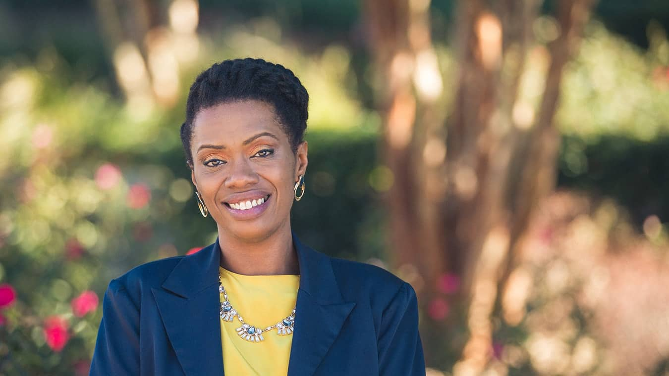 An alumna: Explore Regent's PhD in Counseling and Psychological Studies – Human Services for Student Affairs.