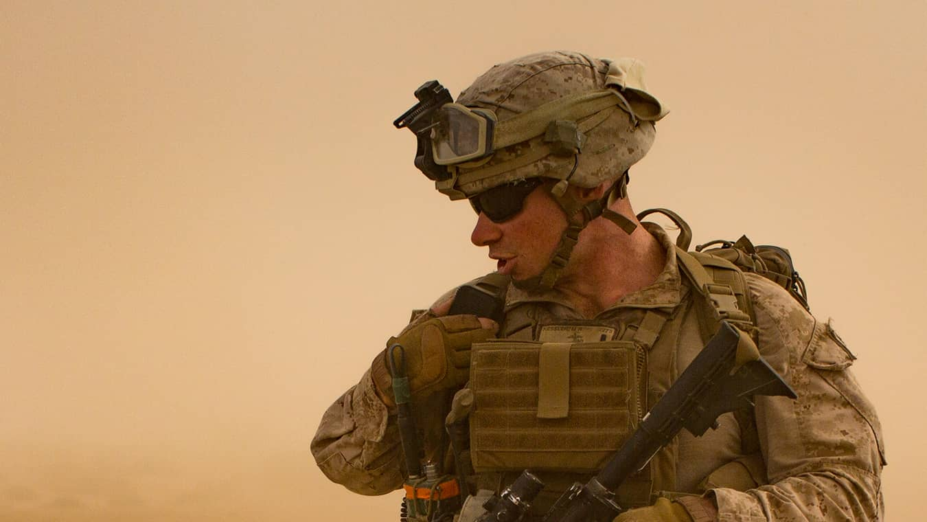 A soldier: Explore Regent's Middle East Politics certificate program, offered online and in Virginia Beach.