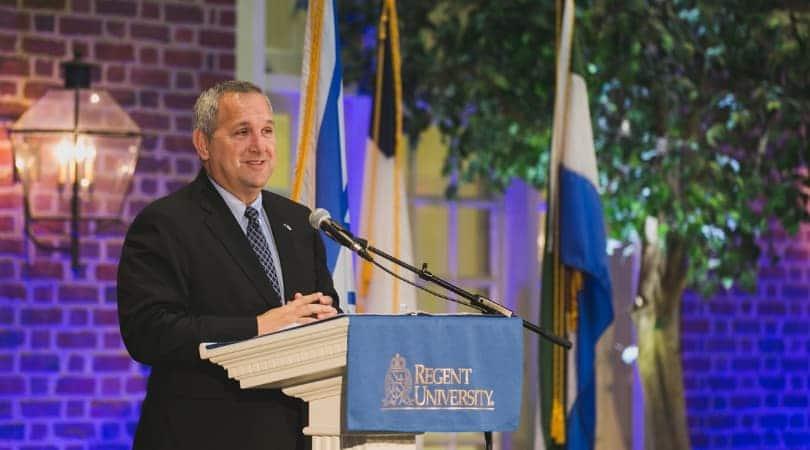 Deputy Head of Mission, Embassy of Israel, Benjamin Krasna. Photo courtesy of Patrick Wright.