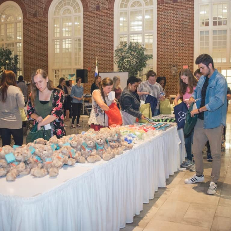 "Regent University hosted the annual ""Fear 2 Freedom"" event that facilitates care packages for assault survivors."