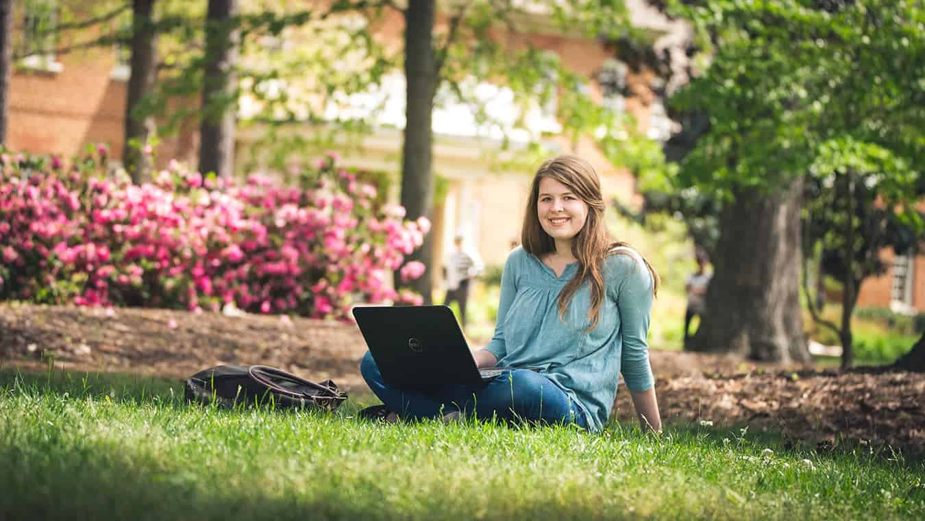A student at Regent, a leading Christian university that offers on-campus and online degree programs.