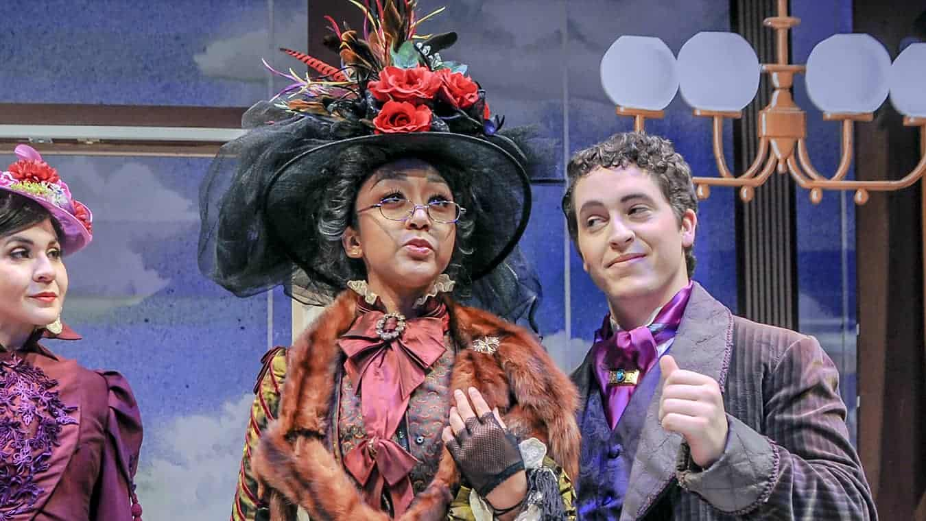 A theater production: Pursue a Master of Fine Arts in Acting degree at Regent University.