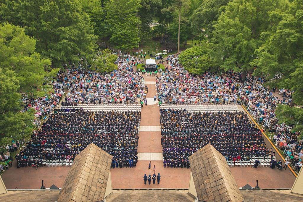 Regent's 39th graduation ceremony.