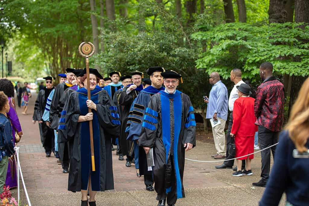 Regent University's 39th Commencement ceremony in Virginia Beach.