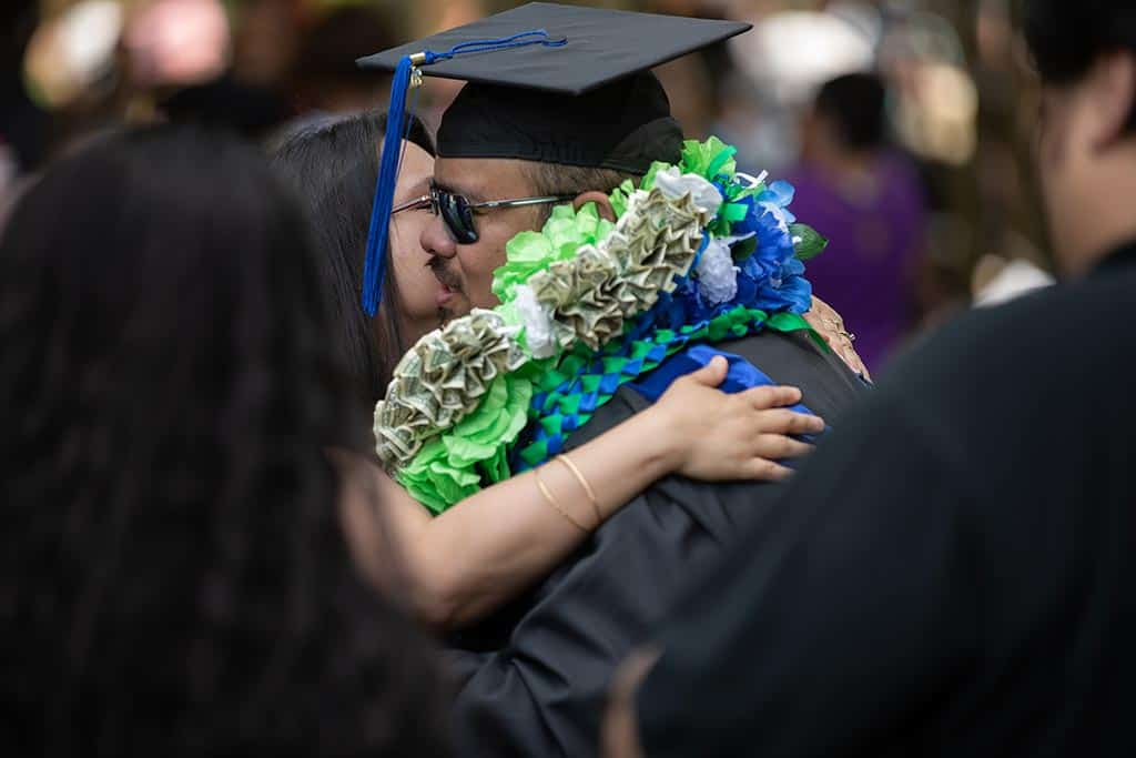Joyful moments from Regent University's beautiful commencement ceremony.