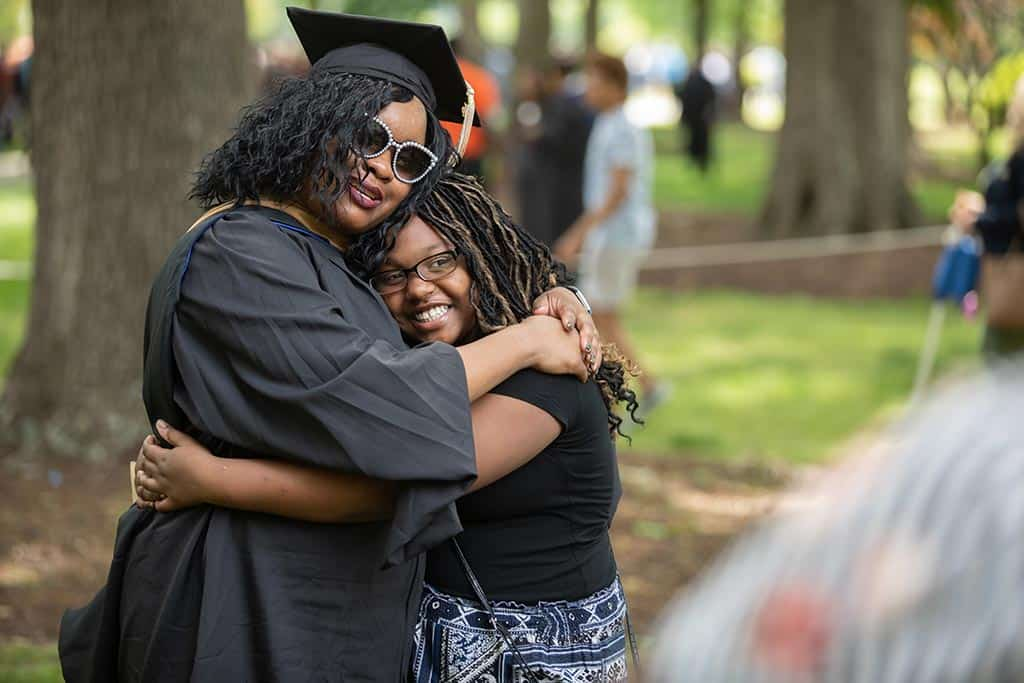Moments of pride and joy during Regent University's 2019 commencement ceremony.