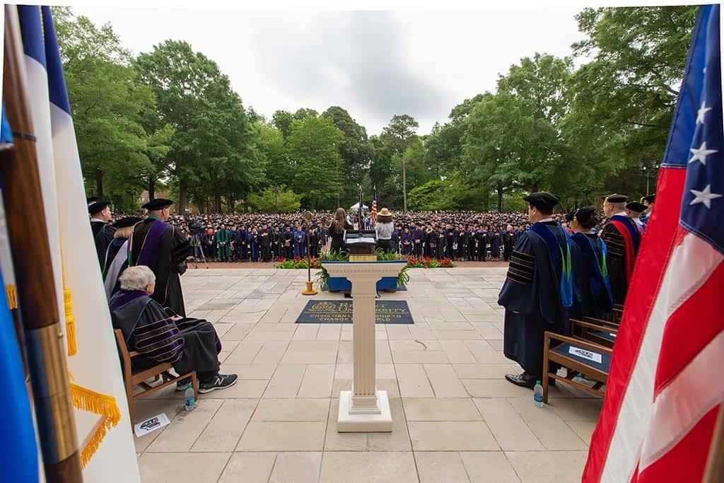 Regent University's beautiful 2019 commencement ceremony in Virginia Beach.