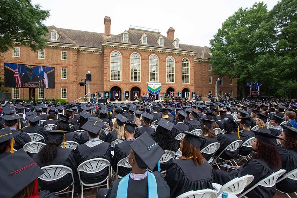 Regent University's beautiful 2019 commencement ceremony.