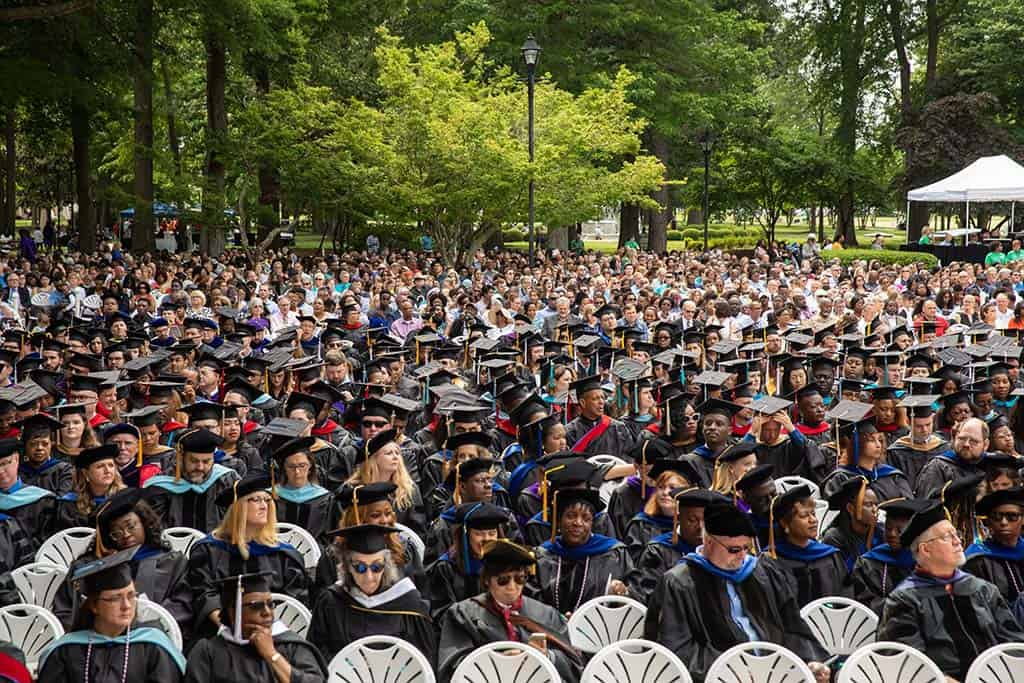 Regent University's 2019 commencement ceremony.