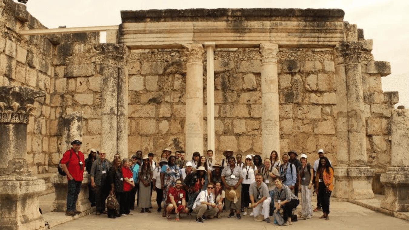 Forty one Regent University students visited Israel.