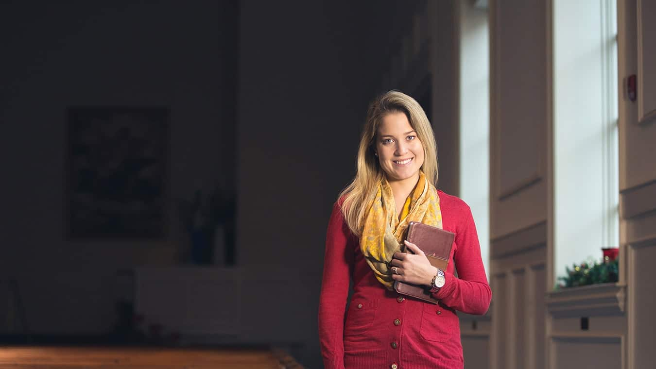 An alumna: Regent University offers a Christian ministry minor online and in Virginia Beach, VA 23464.