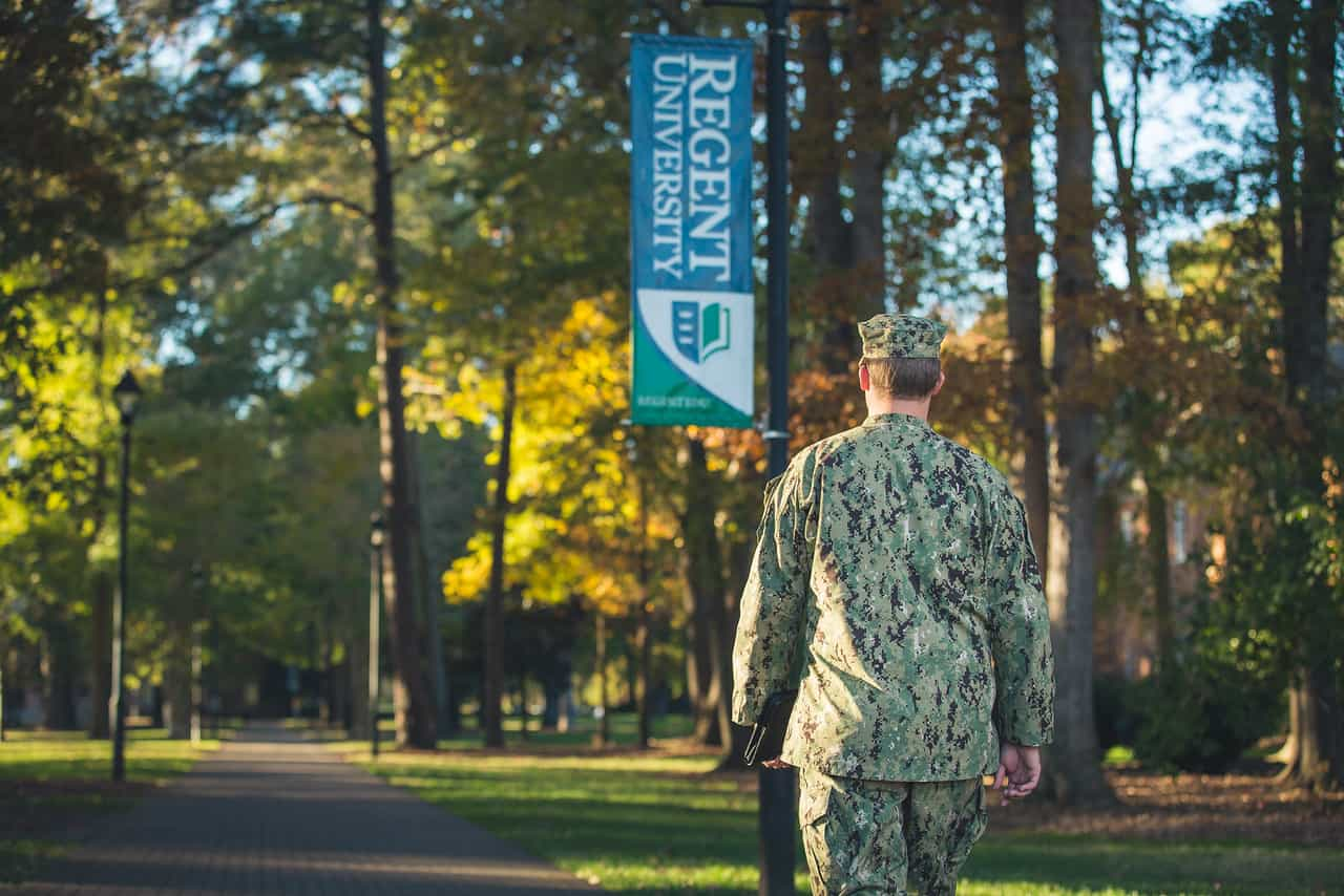 Regent University is a partner in the Yellow Ribbon Program and has a Military Resource Center that supports military students and families.