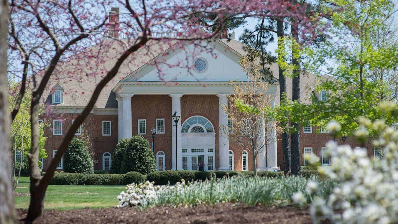 The Communication Building of Regent University, Virginia Beach.