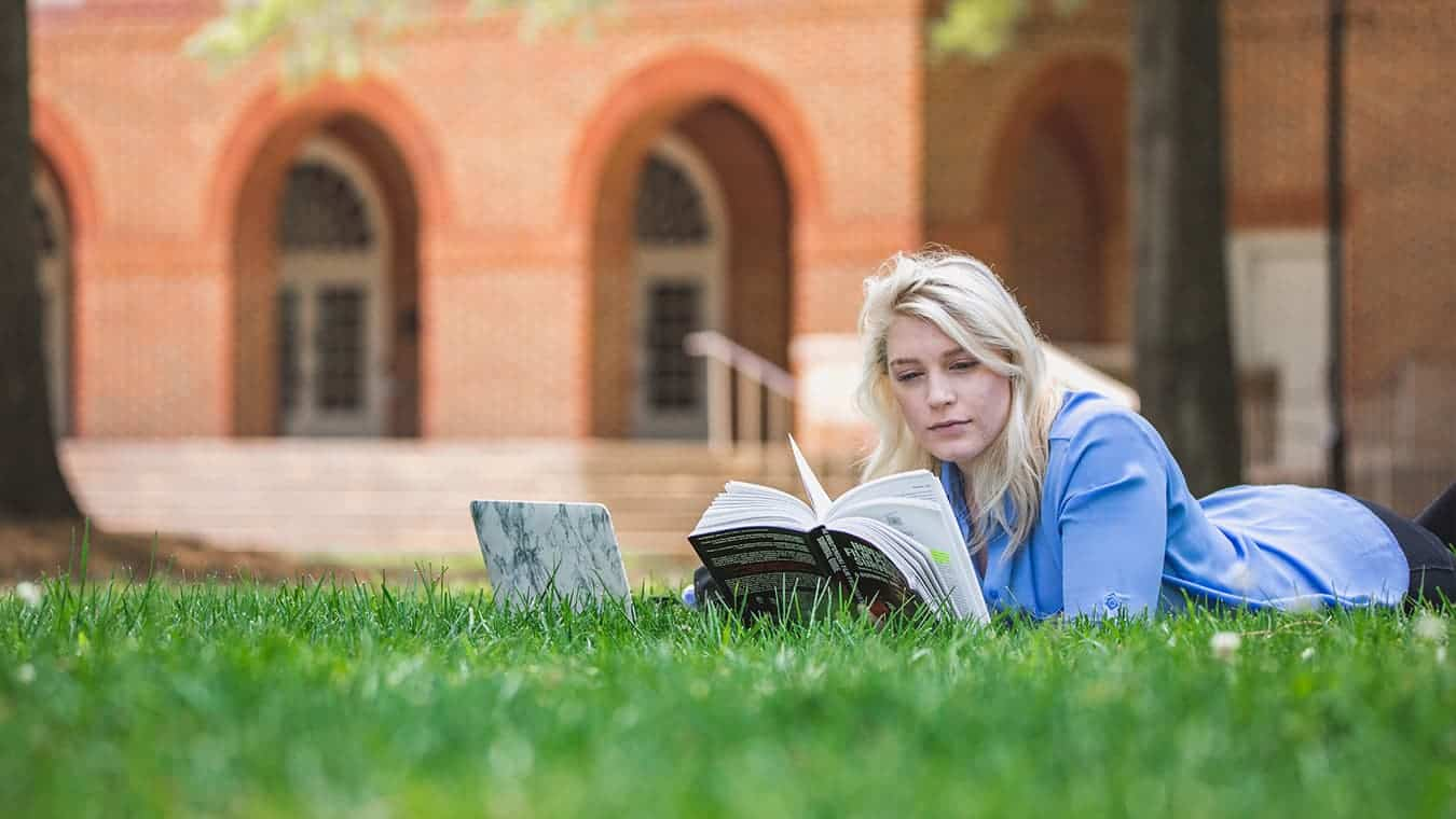 Regent University offers a self-designed bachelor's in English program online and in Virginia Beach.