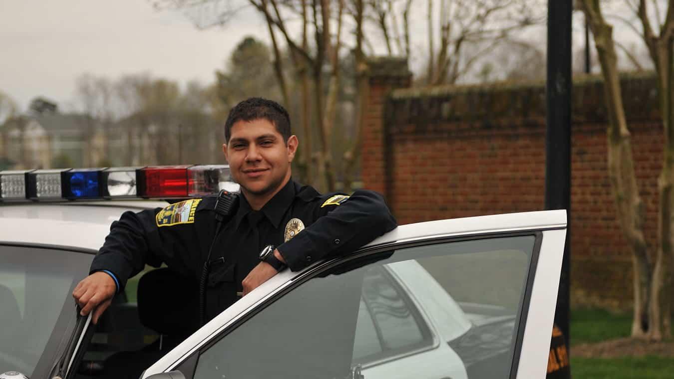 A police officer: Pursue Regent's B.S. in Criminal Justice - Law Enforcement online or in Virginia Beach, VA 23464.