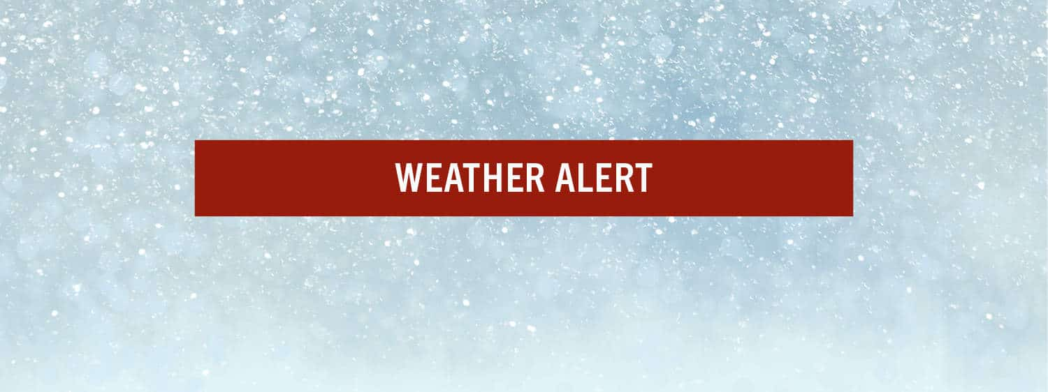 Due to inclement weather, Regent University, Virginia Beach, will be closed on Friday, February 21, 2020.