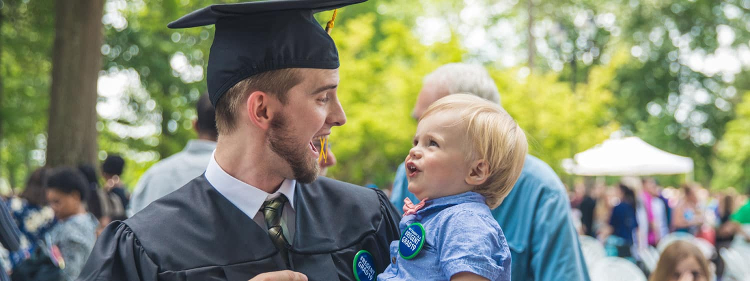 Regent University will conduct an online commencement ceremony on May 9, 2020.